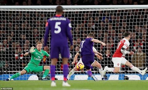 Thủ môn Leno trận Arsenal vs Liverpool nói về sai lầm ở bàn thua hình ảnh