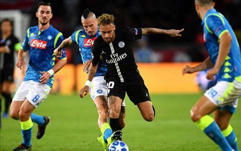 Neymar phát biểu trước trận Napoli vs PSG hình ảnh