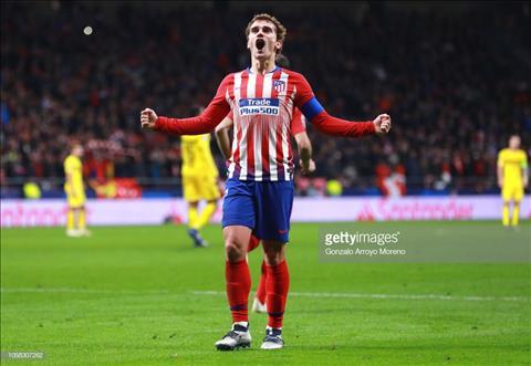 Griezmann trận Atletico Madrid vs Dortmund lập kỷ lục 20 bàn C1 hình ảnh