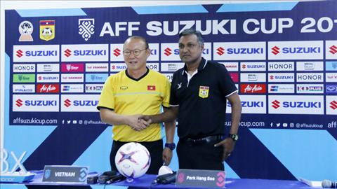 HLV Park Hang Seo không ngại áp lực tại AFF Cup 2018 hình ảnh