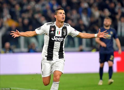 Ronaldo da khong con khong an mung sau khi them mot lan sut tung luoi doi bong cu