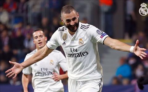 Karim Benzema phát biểu sau trận Viktoria Plzen 0-5 Real Madrid hình ảnh