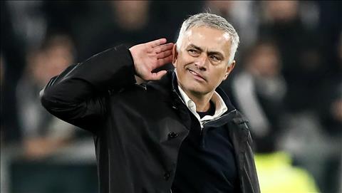 HLV Jose Mourinho tran Juventus 1-2 Man Utd