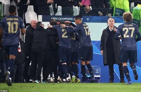Dư âm Juventus 1-2 MU Quỷ đỏ đội mồ sống dậy hình ảnh
