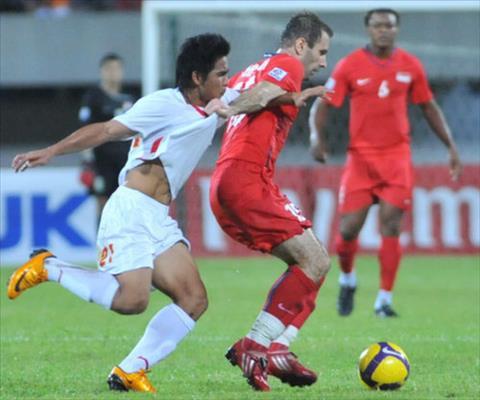 Video Việt Nam vs Singapore 1-0 bán kết lượt về AFF 2008 hình ảnh