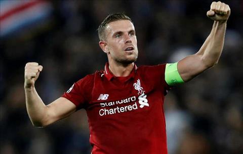 Jordan Henderson nhắn gửi đồng đội Liverpool hình ảnh