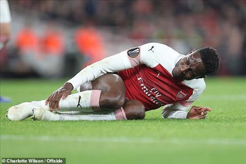 Tiền đạo Danny Welbeck của Arsenal chấn thương, tương lai ra sao hình ảnh