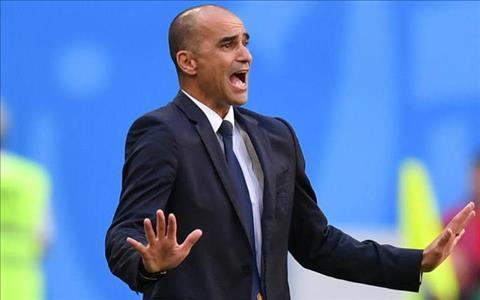 Trainer Roberto Martinez