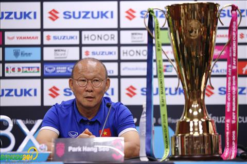 HLV Park Hang Seo phát biểu trước trận gặp Malaysia hình ảnh