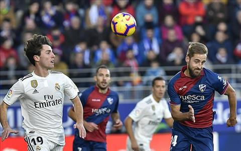 Huesca tiep tuc xep bet bang o La Liga