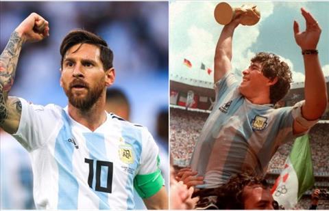 Messi va Maradona