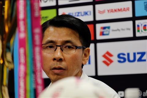 HLV Tan Cheng Hoe hop bao Malaysia vs Viet Nam
