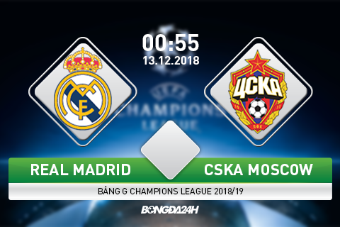 Preview Real Madrid vs CSKA Moscow