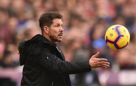 Atletico Madrid gia hạn hợp đồng với HLV Diego Simeone thêm 1 năm hình ảnh