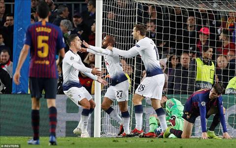 HLV Pochettino phát biểu trận Barca vs Tottenham thoát hiểm C1 hình ảnh