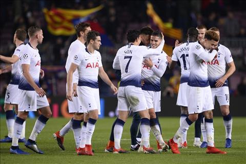 Thống kê ấn tượng trận Barca vs Tottenham - Bảng B C1 201819 hình ảnh