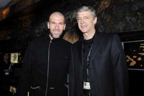 HLV Wenger noi ve Zidane
