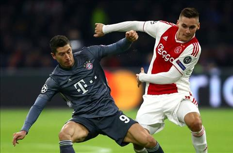 Robert Lewandowski phát biểu sau trận Ajax 3-3 Bayern hình ảnh