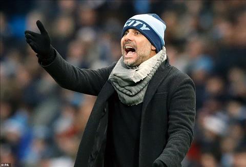 HLV Pep Guardiola noi ve tran thang Everton