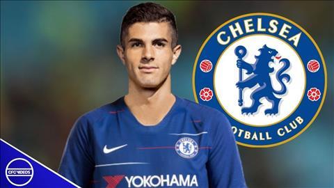 Chelsea sap ra mat bom tan Christian Pulisic