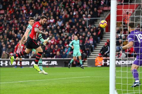 Southampton vs Arsenal Ings danh dau