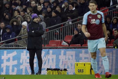 Thống kê ấn tượng trận Tottenham vs Burnley hình ảnh