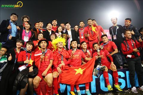 Thanh phan cua DT Viet Nam du AFF Cup 2018 co rat nhieu cau thu thuoc bien che cua Ha Noi FC.
