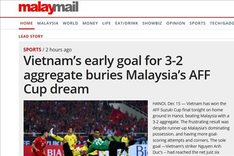 Truyền thông Malaysia nói về thất bại trước ĐT Việt Nam hình ảnh
