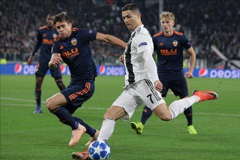 Cristiano Ronaldo ngồi dự bị trước Atalanta hình ảnh