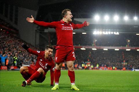 Shaqiri phát biểu trận Liverpool vs MU với cú đúp bàn thắng hình ảnh