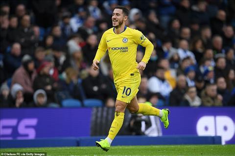 Hazard đá cắm, Chelsea chiến thắng Hai sai biến thành một đúng hình ảnh 2