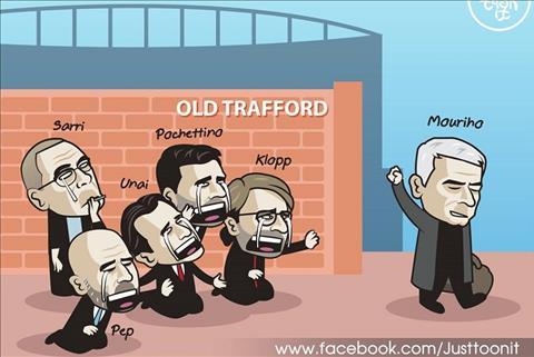 LV Jose Mourinho lên tiếng sau khi bị MU sa thải hình ảnh