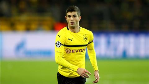 HLV DT My tiet lo tuong lai Christian Pulisic