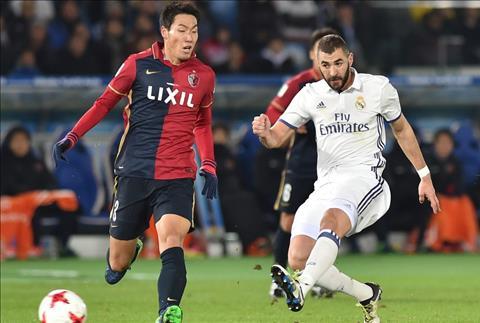 Real Madrid v Kashima Antlers Benzema