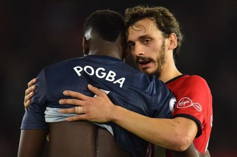 Jose Mourinho chỉ trích Paul Pogba sau trận hòa Southampton hình ảnh 2