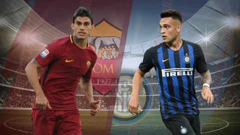 Nhận định Roma vs Inter Milan 2h30 ngày 3/12 (Serie A 2018/19)