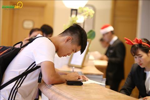 Luc Xuan Hung tiep tuc duoc HLV Park Hang Seo trieu tap cho Asian Cup 2019.