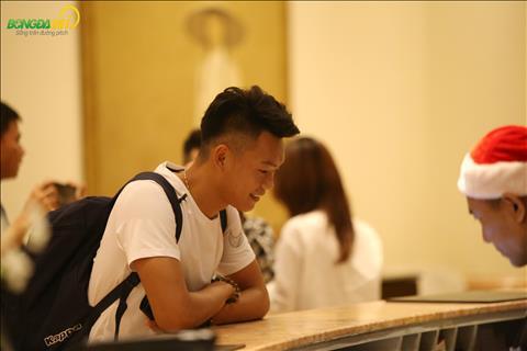 Thanh Chung trong dot tap trung nay se o cung phong voi Tien Linh.