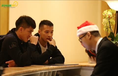 Ngan Van Dai (trai) duoc trieu tap bo sung sau AFF Cup 2018.