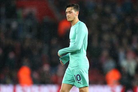 Mesut Ozil rời Arsenal theo dạng cho mượn vào tháng 1 năm 2019 hình ảnh