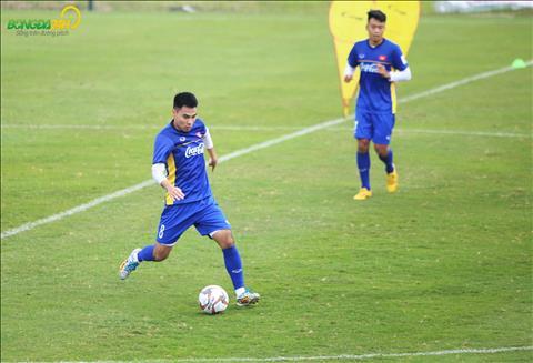 DT Viet Nam tap doi khang de chuan bi cho Asian Cup 2019.