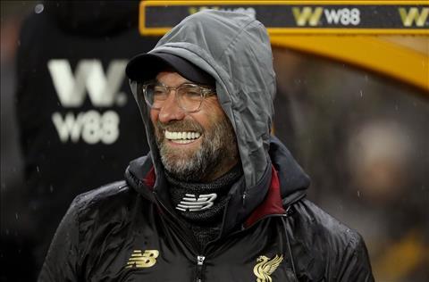 HLV Klopp dang thang hoa cung Liverpool