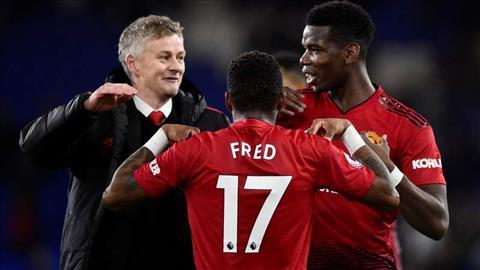 Tiền vệ Pogba phát biểu trận Cardiff 1-5 MU khi cảm ơn Mourinho hình ảnh