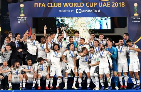 Real vo dich Club World Cup 2018
