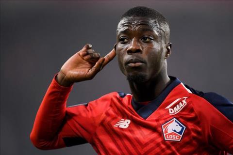 Lille doi 72 trieu bang cho Nicolas Pepe