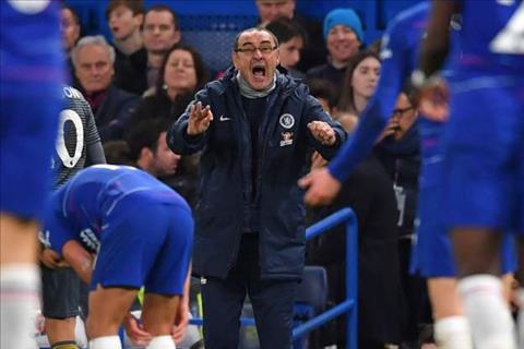 HLV Sarri yêu cầu học trò đứng dậy sau trận thua Leicester hình ảnh