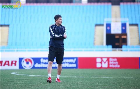 ĐT Triều Tiên tập luyện buổi duy nhất trước trận gặp Việt Nam hình ảnh