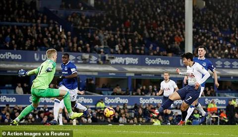 Điểm nhấn Everton vs Tottenham vòng 18 Ngoại hạng Anh 201819 hình ảnh