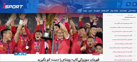 Bao chi Iran danh gia rat cao doi tuyen Viet Nam tai Asian Cup 2019
