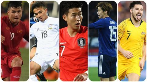 Quang Hải được xếp chung mâm với Son Heung-min ở Asian Cup  hình ảnh